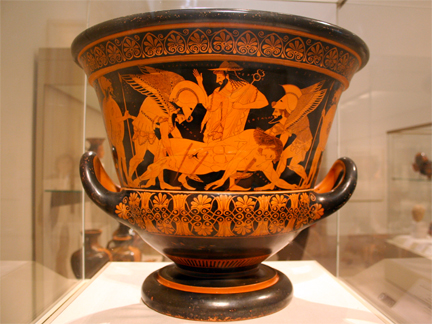 greek wine vase